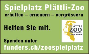 Plättli-Zoo, Spielplatz erhalten