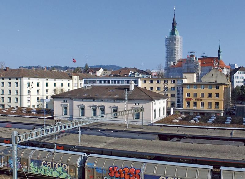 Bahnhof Frauenfeld 1907 und 2015