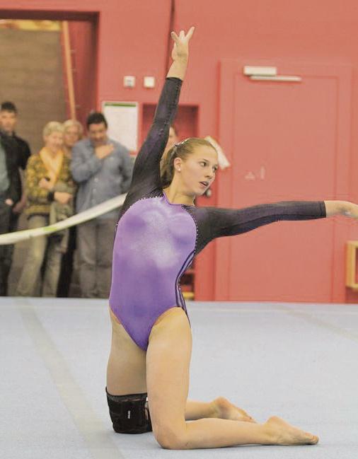 Sportlerin des Jahres, Angelica Moser, setzt sich hohe Ziele