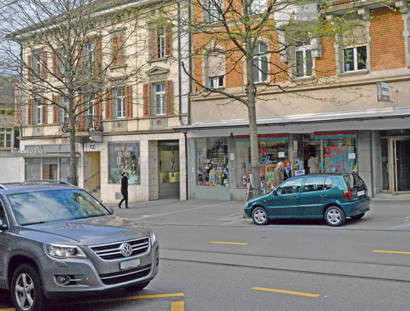 Rheinstrasse 1934 und 2015