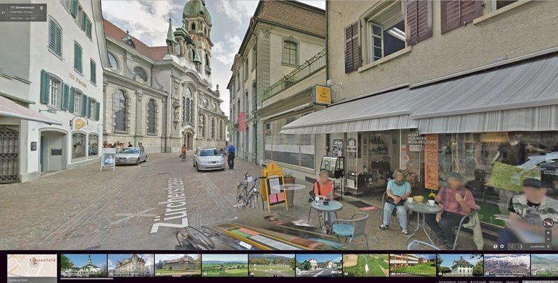 Frauenfeld auf Google Street View