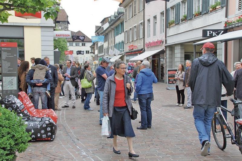 Begegnungszone Altstadt Frauenfeld eröffnet!