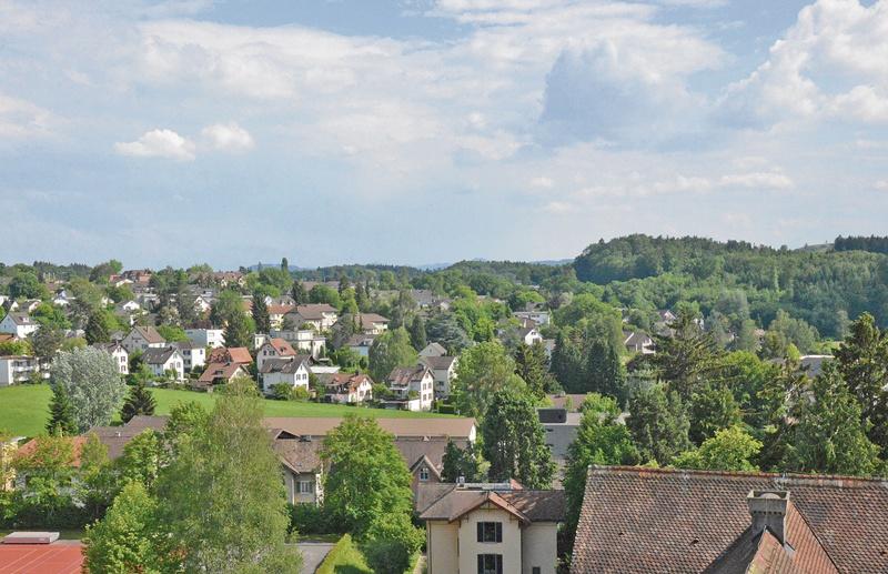 Blick vom Kanti-Türmli nach Süden – 1932 und 2015