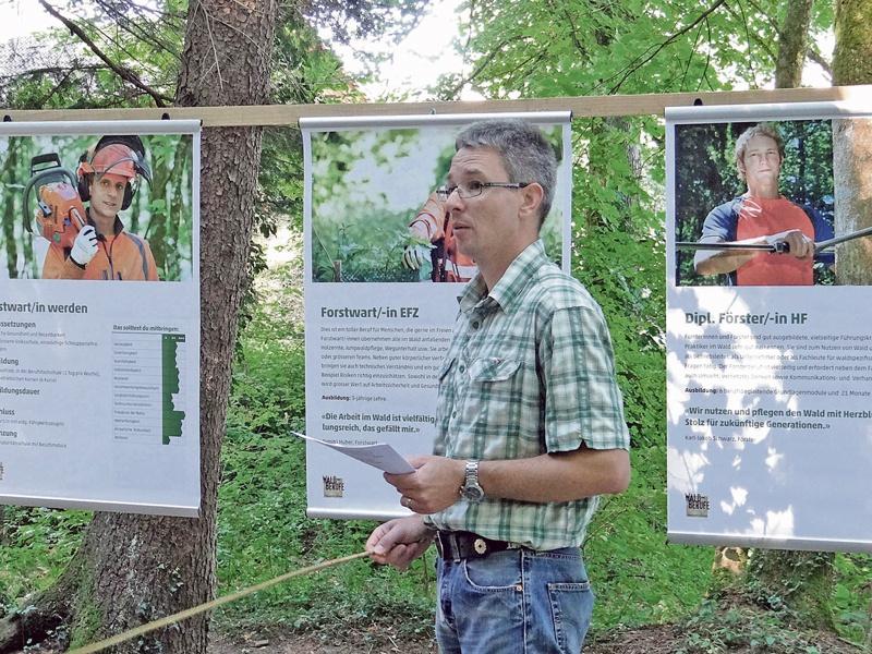 Neue Forstwarte und Förster braucht das Land