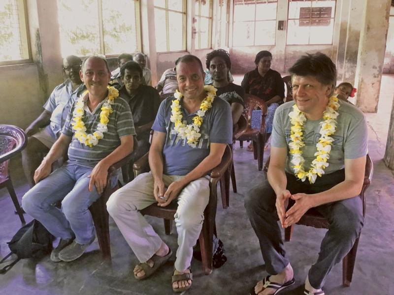 Marc «Schifel» Scheifele gibt Vollgas: Hilfe zur Selbsthilfe auf Sri Lanka!