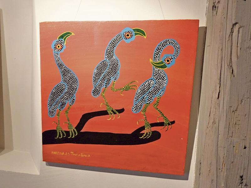 Tingatinga-Arts bis 29. Mai, Stadtgalerie Baliere