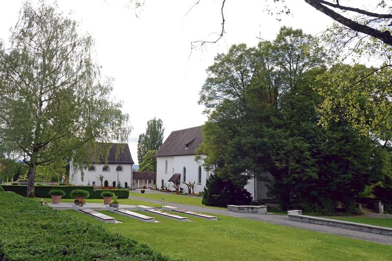 Friedhof Oberkirch vor 110 Jahren und heute