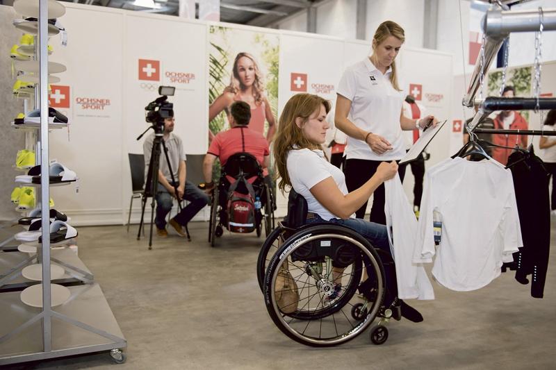 Bereit für die Paralympics in Rio de Janeiro