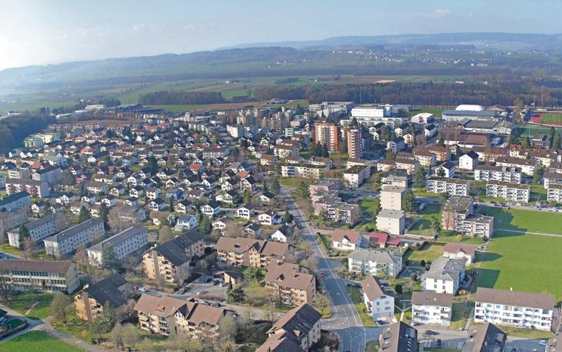 Links und rechts der Maiholzstrasse