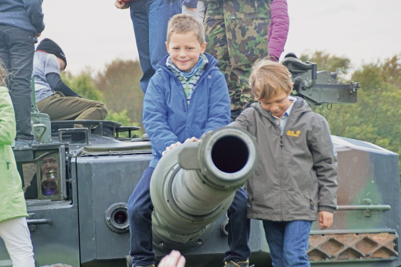 Truppenbesuchstag beim  Panzerbataillon 29