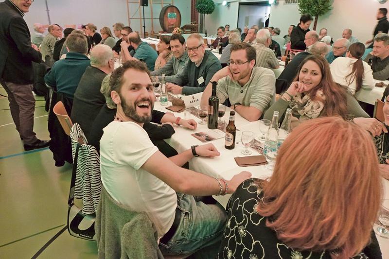 QV Langdorf: Mit Strupler/Stähli ging die Post ab!