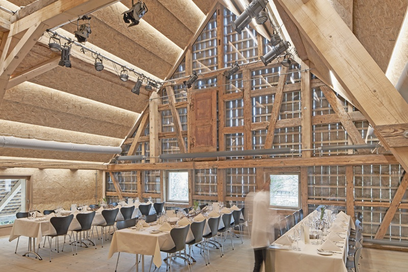 Gasthof Hirschen zum Bijou ausgebaut und renoviert