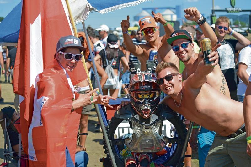 Sternstunde für Schweizer Motocross