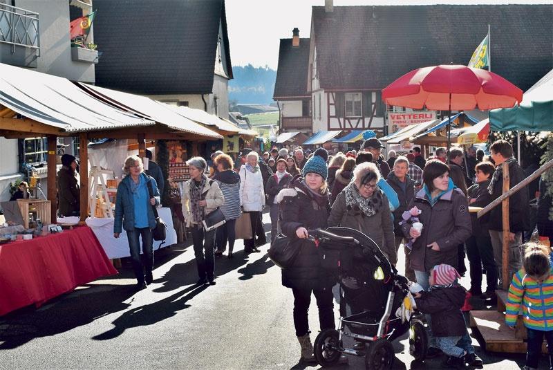 Ansturm auf den Hüttwiler Chlausmarkt
