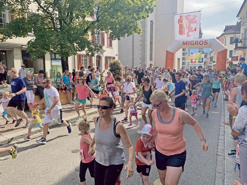 Stadtlauf-Jubiläum nach Mass