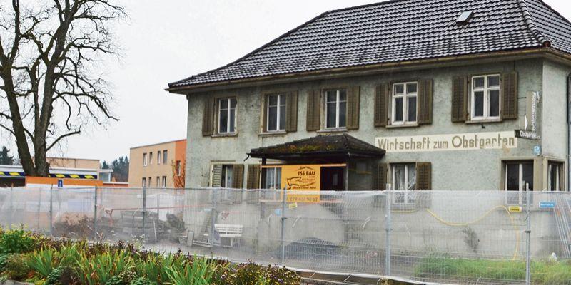Restaurant «Obstgarten» bleibt erhalten
