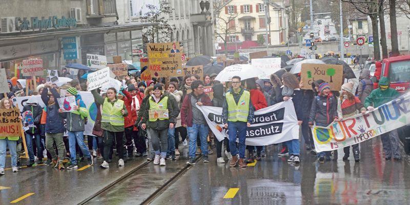 Klima-Bewegung erfasst Frauenfeld
